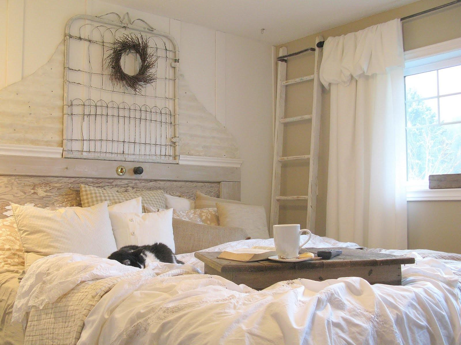 Funky Junque Interiors Master Bedroom Makeover Shabby