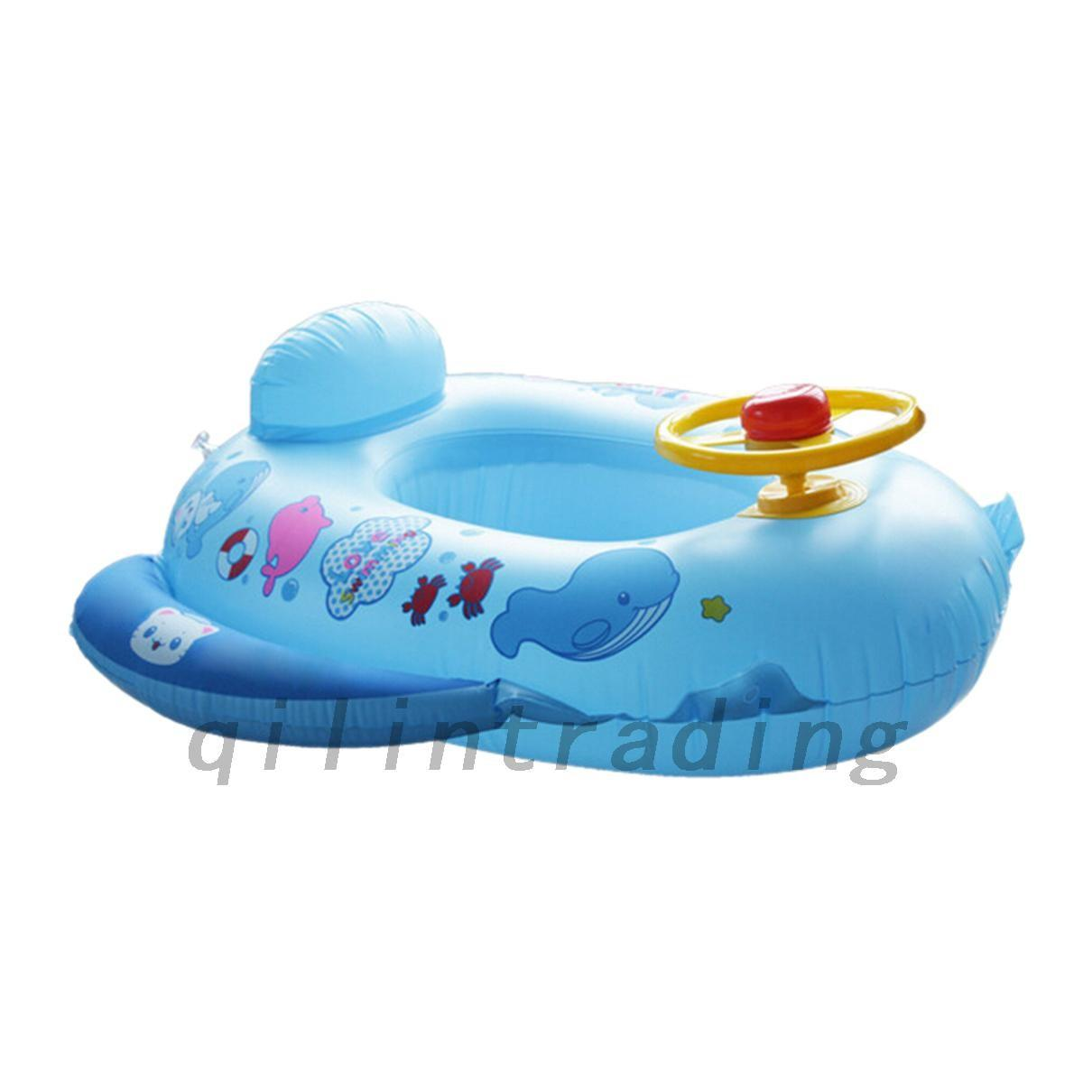Funny Inflatable Baby Swim Ring Float Raft Kids Seat