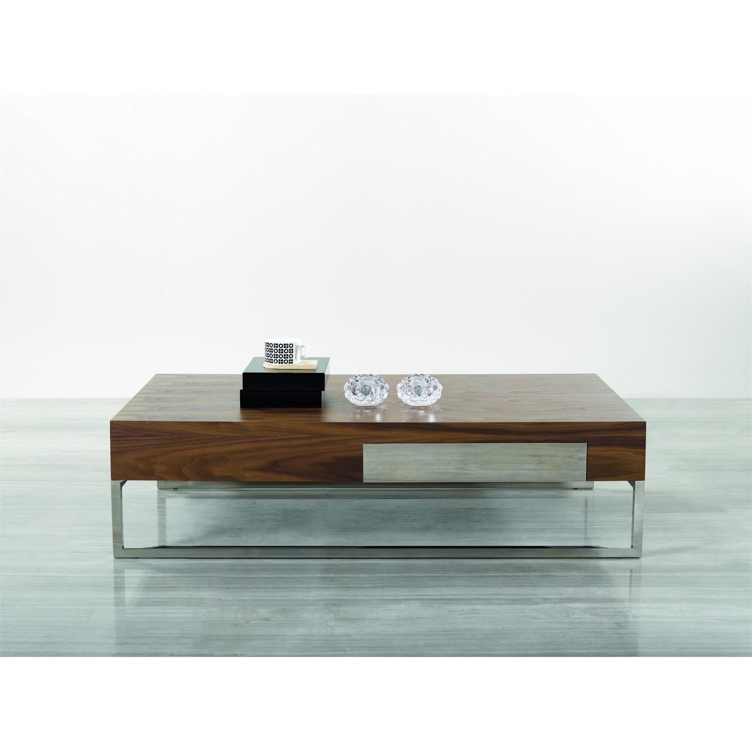 Furniture 107a Modern Coffee Table Walnut