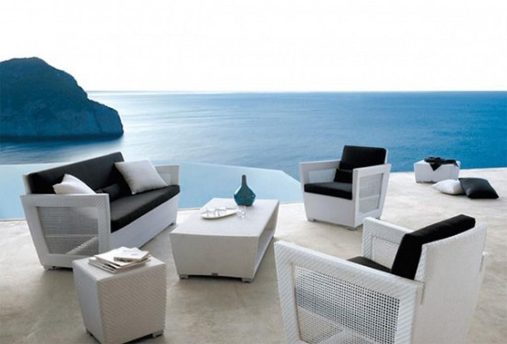 Furniture Best Modern Outdoor Patio Set