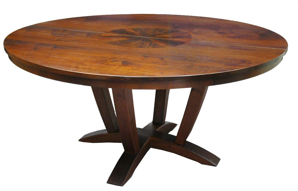 Furniture Collection Wooden Round Dining Tables Design
