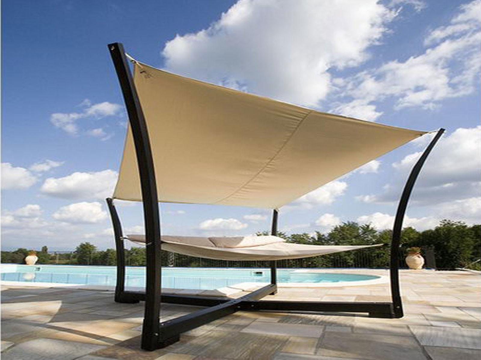 Furniture Contemporary Outdoor Bed Designs Canopy