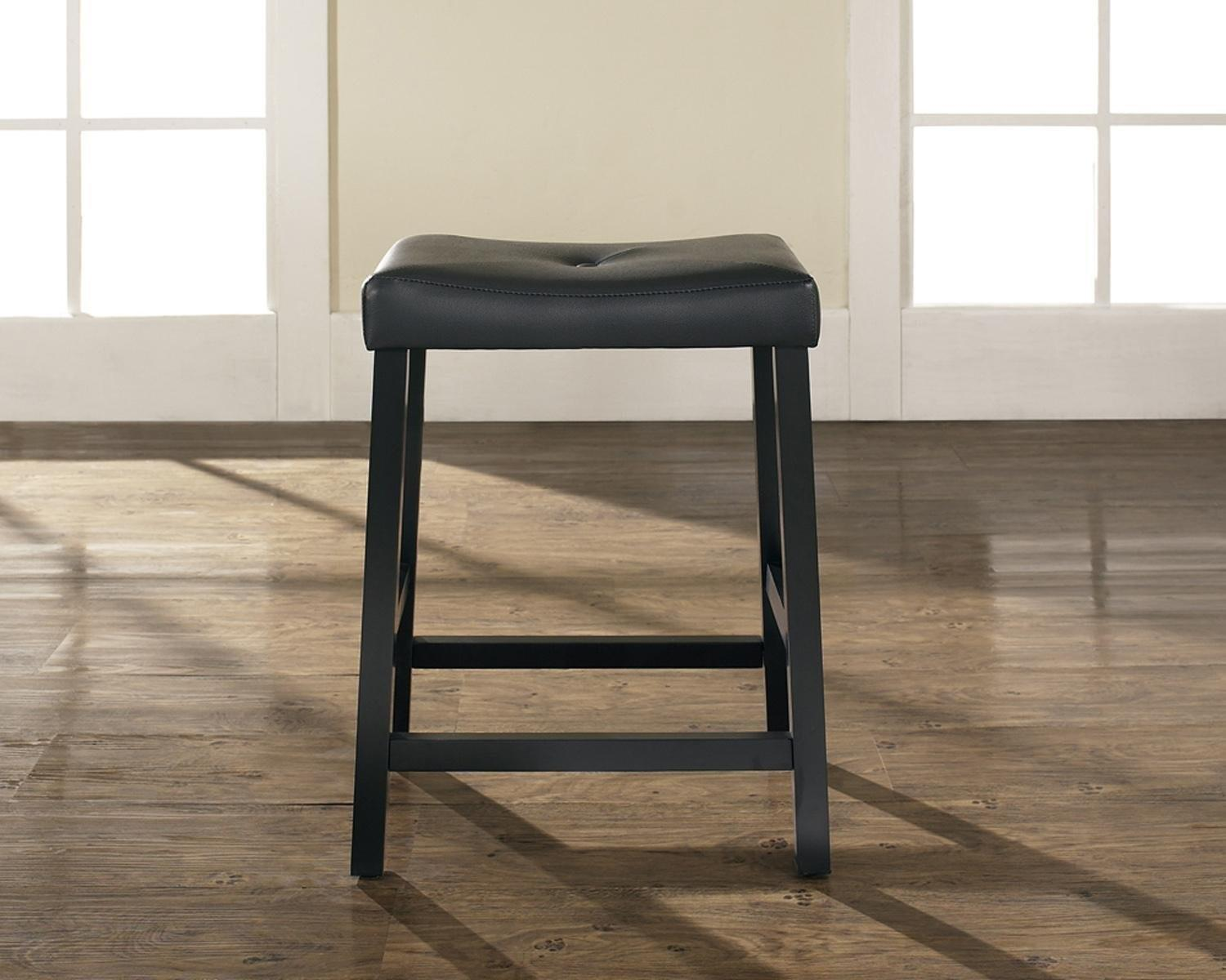 Furniture Counter Height Bar Stools Brown Wooden