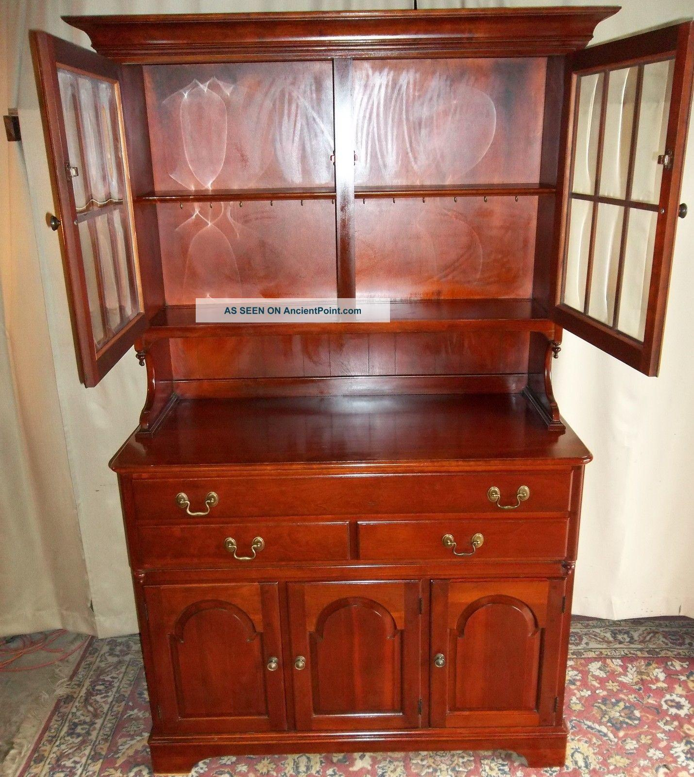 Furniture Dining Room China Cabinet Hutch Wooden
