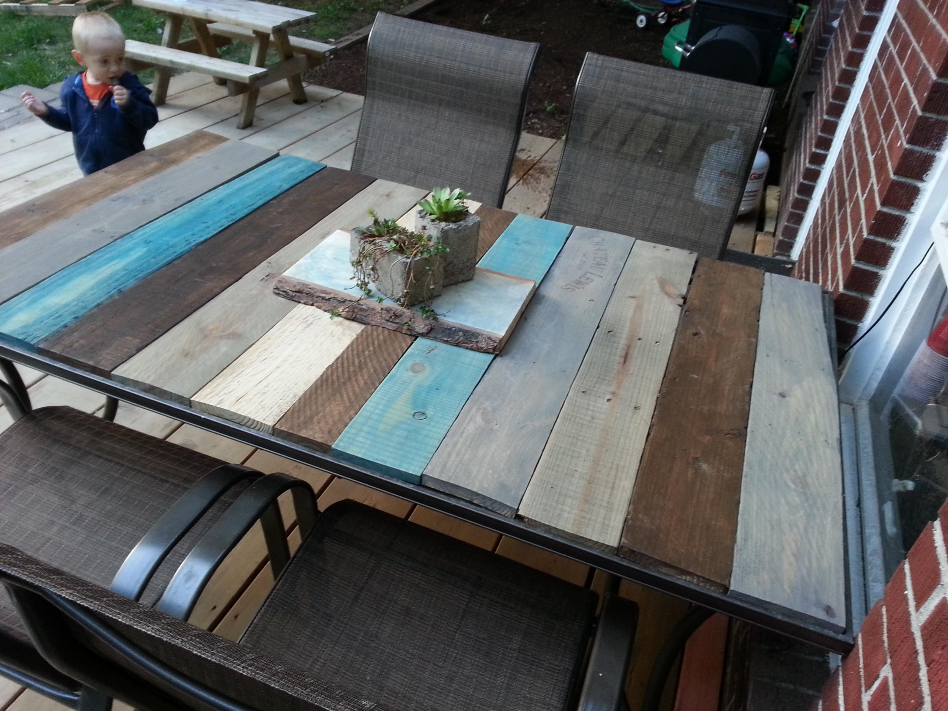 Furniture Diy Outdoor Table Together Concrete Fire