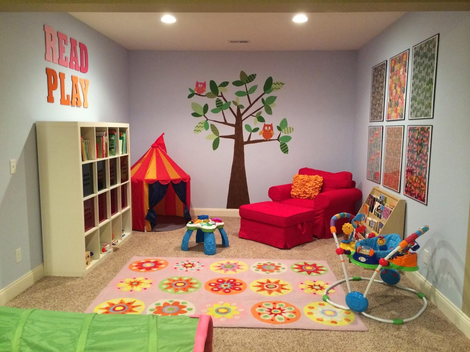 Furniture Kids Playroom Ideas Room