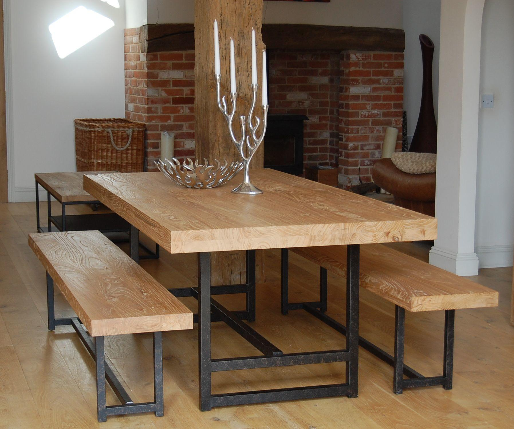 Furniture Kitchen Booth Dining Table Chair Bench
