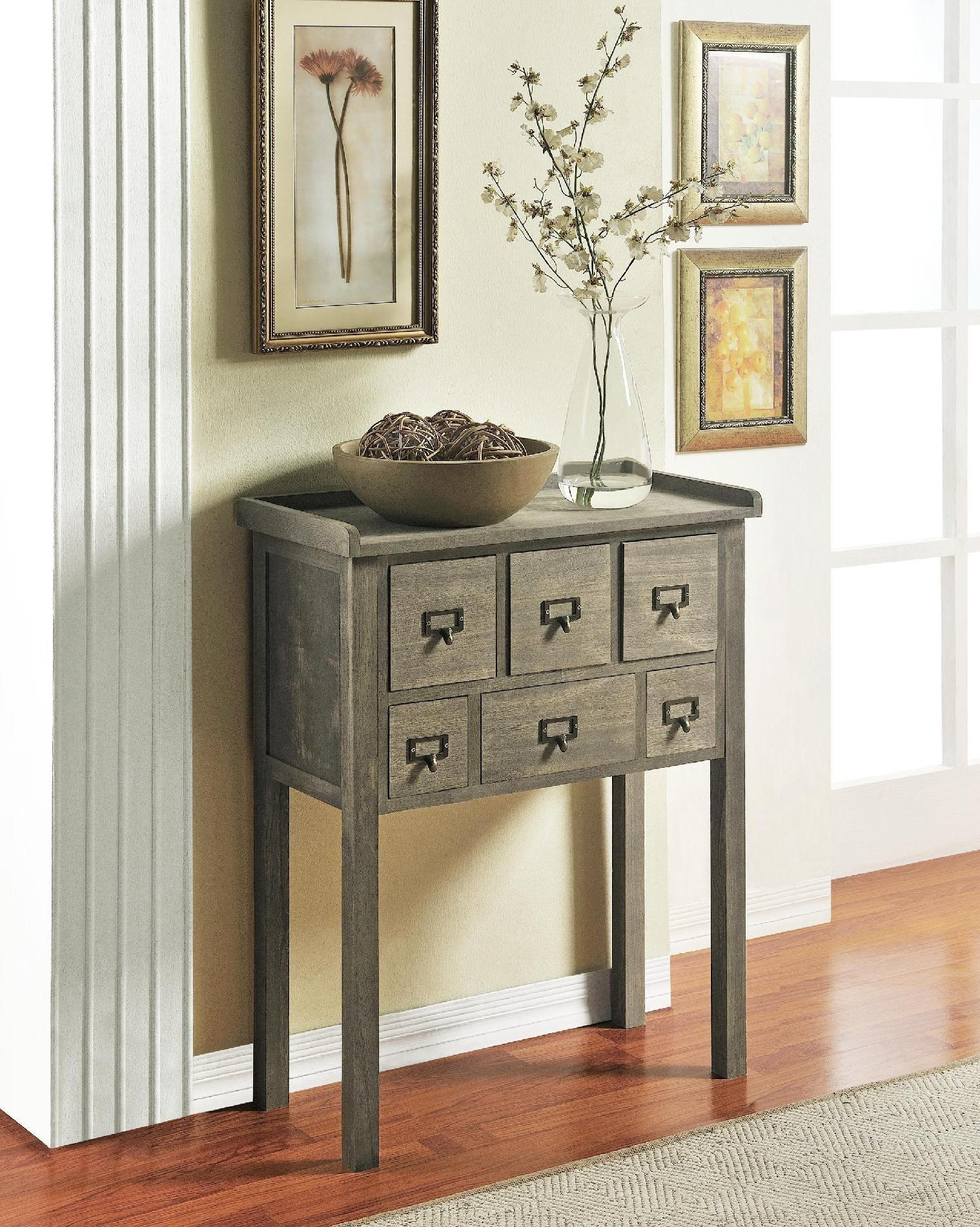 Furniture Large Brown Wood Entryway Bench Cabinet