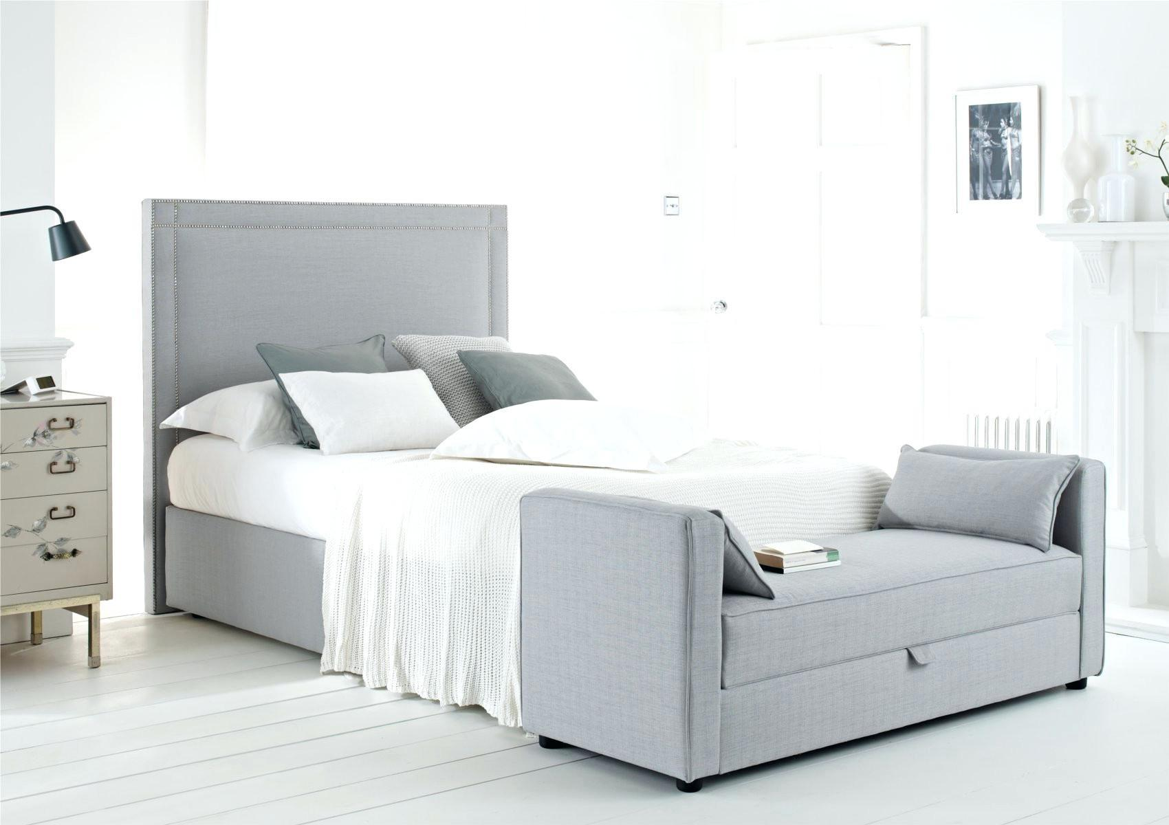 Furniture Long White Headboard Tufted Style Matched