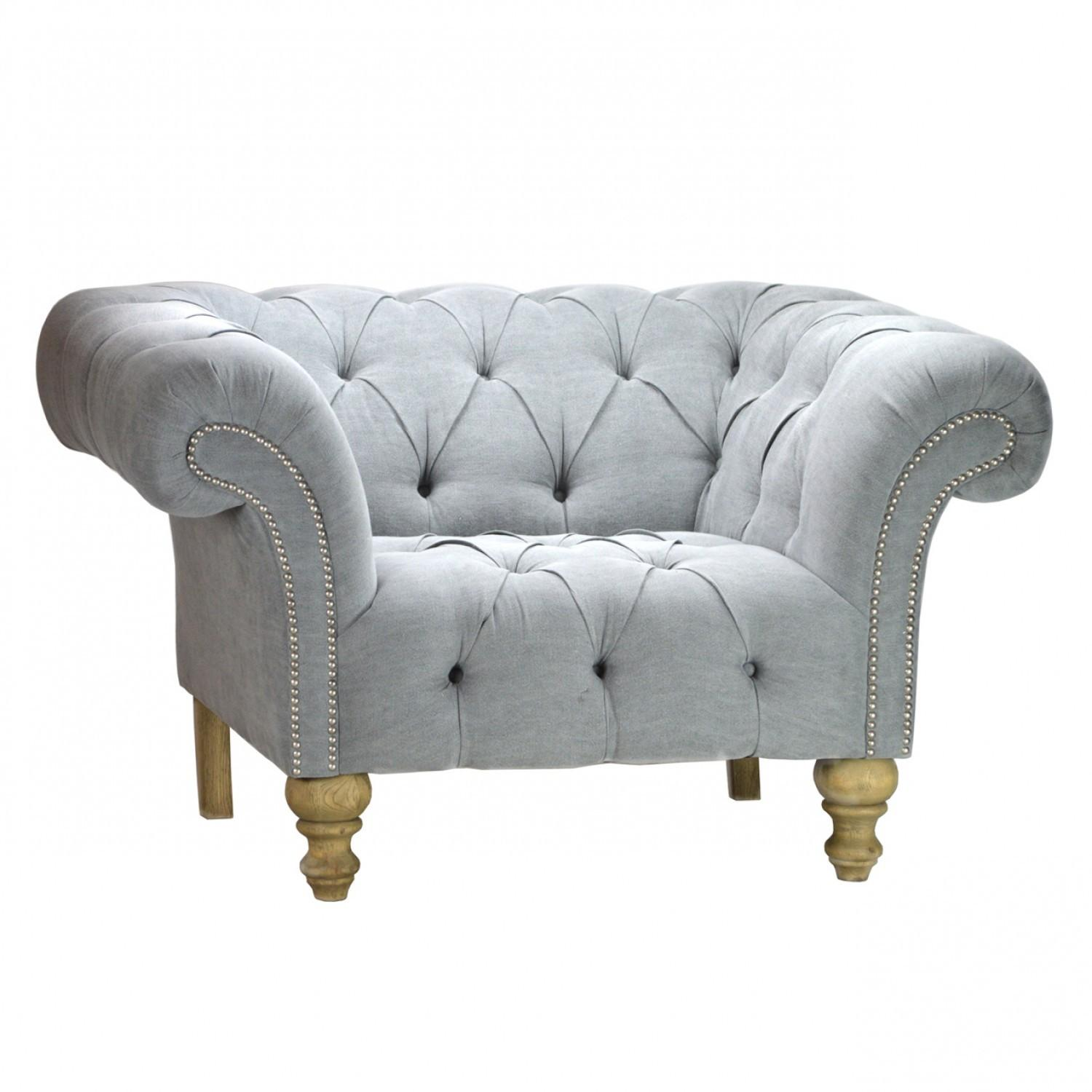 Furniture Luxurious Tufted Chesterfield Sofa Living