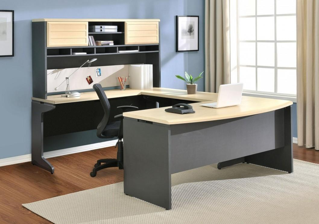 Furniture Luxury Modern Home Office Desk Ideas