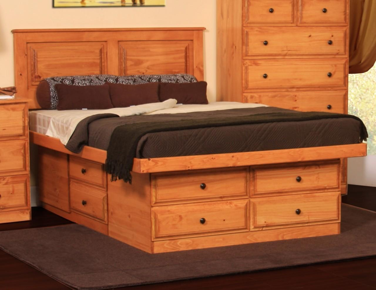 Furniture Outstanding Queen Bed Frame Storage