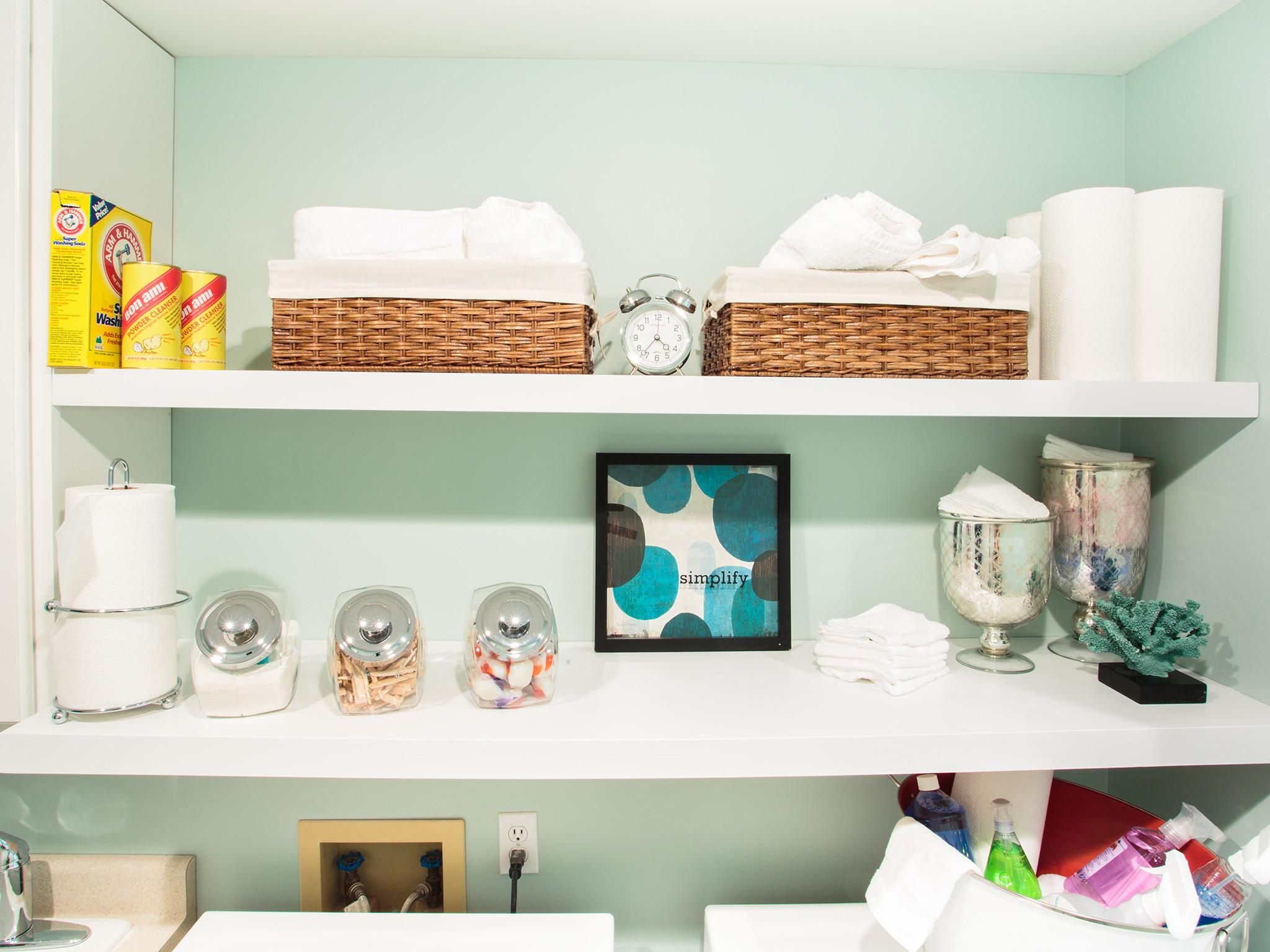 Furniture Saving Very Small Spaces Laundry Room