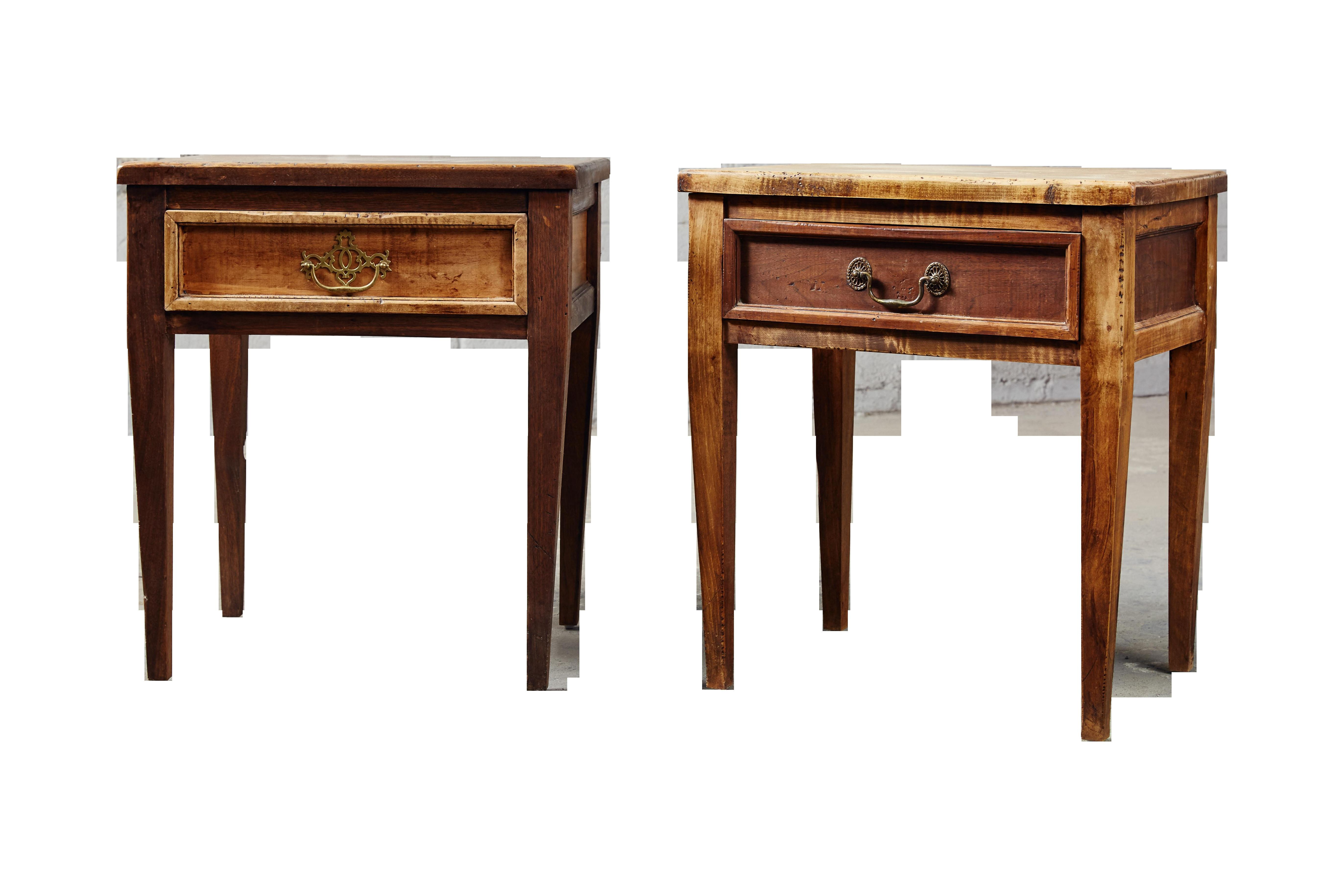 Furniture Small Nightstands Drawers Unique
