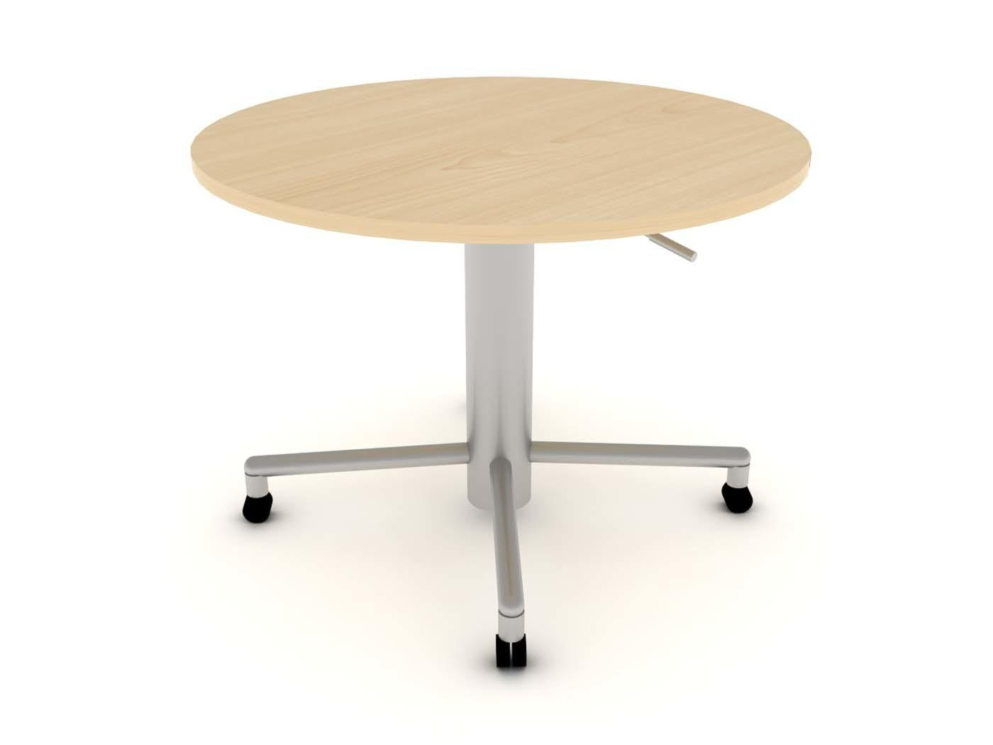 Furniture Small Rectangle Wooden Top Standing Desk