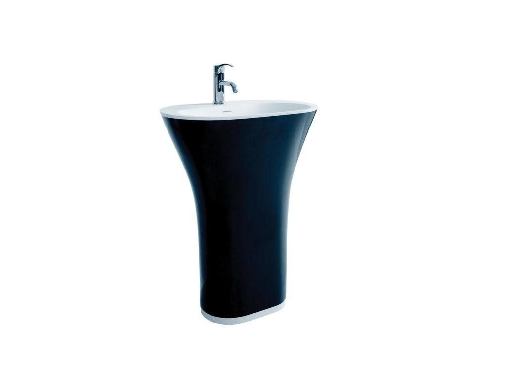 Furniture Stylish Design Contemporary Pedestal Sink