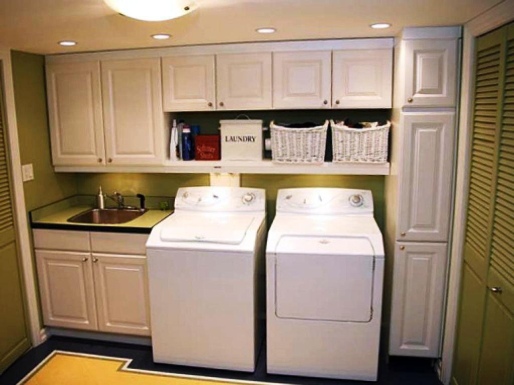 Furniture Stylish Practical Laundry Room Cabinets