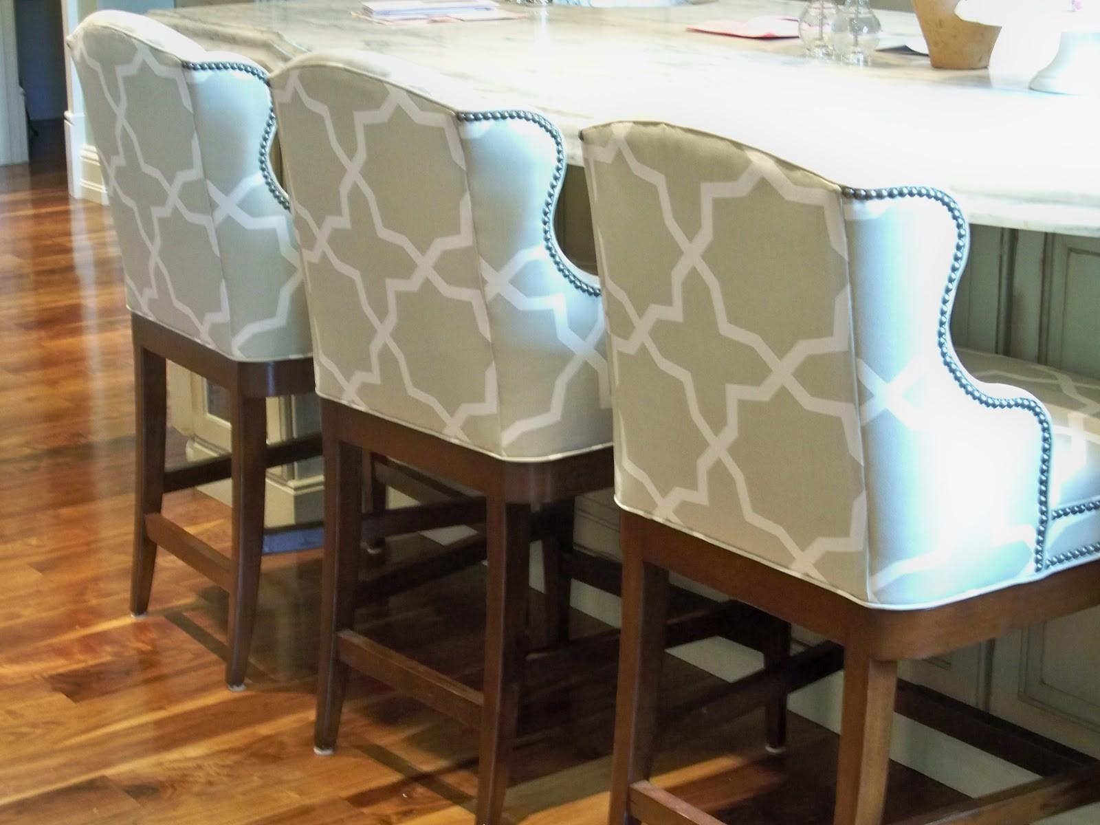 Furniture Upholstered Counter Height Bar Stools