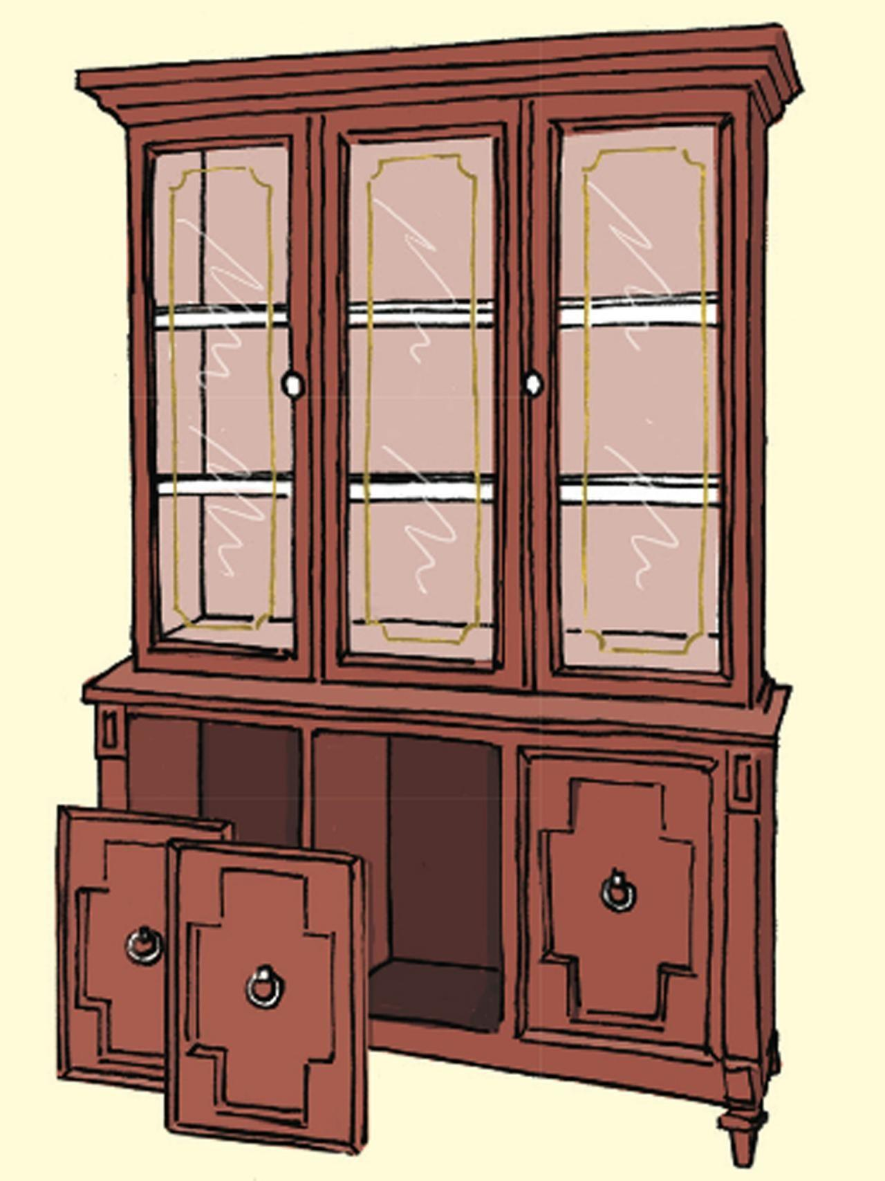 Furniture Used China Cabinet
