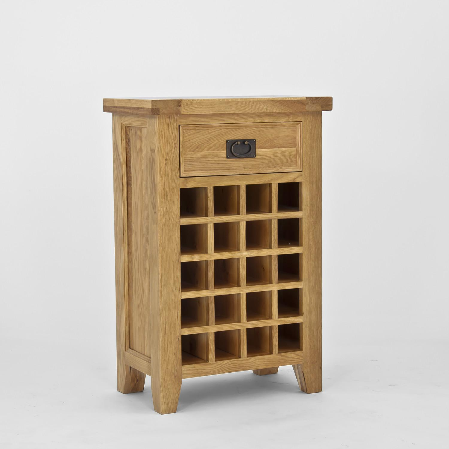 Furniture Wooden Wine Cabinets Racks Buy Oak White