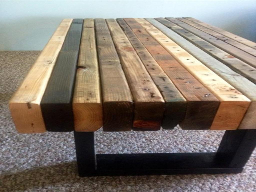 Furnitures Pallet Wood Coffee Table Best Diy