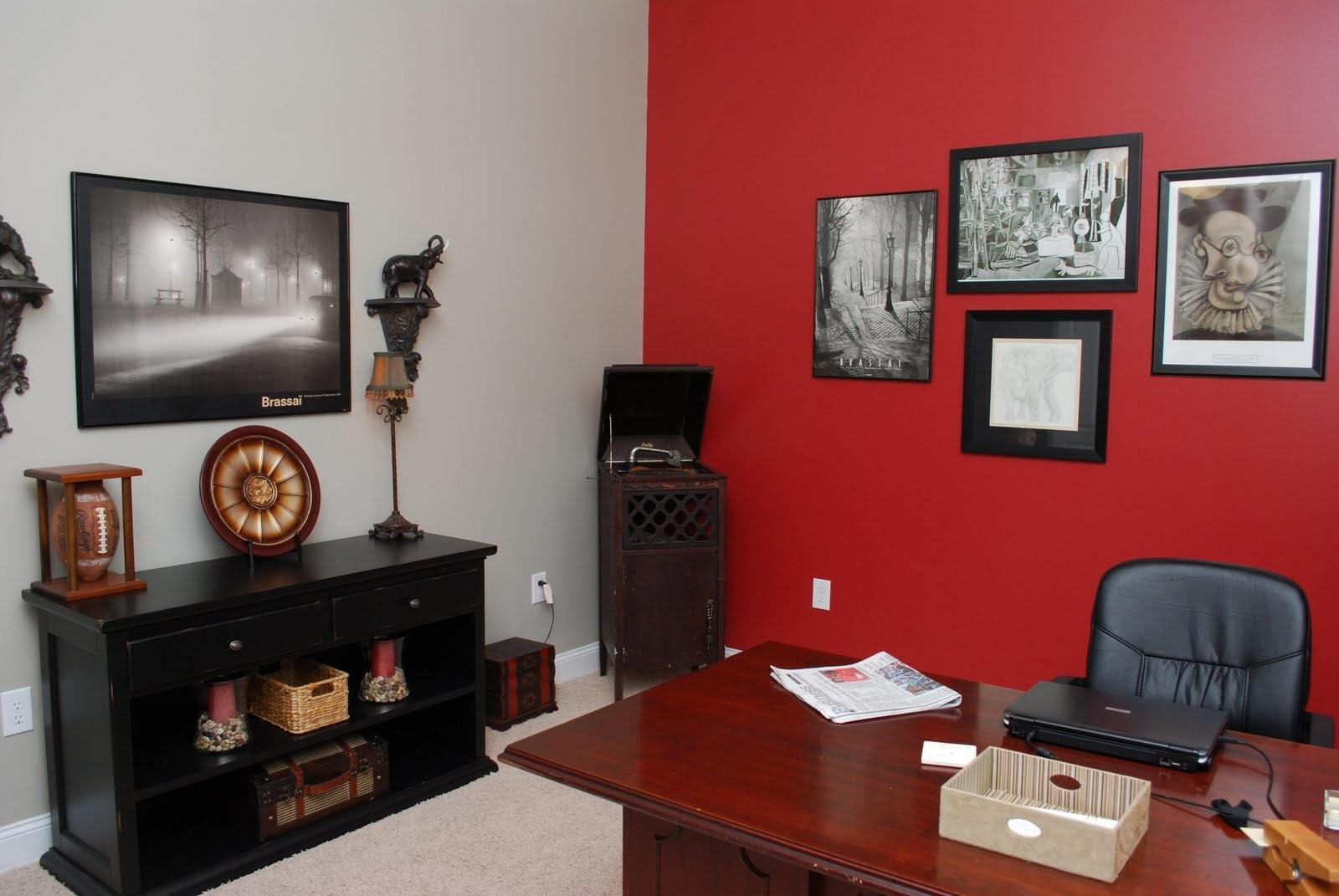 Beautifully Red Home Offices That You Will Fall In Love With Fantastic Pictures Decoratorist
