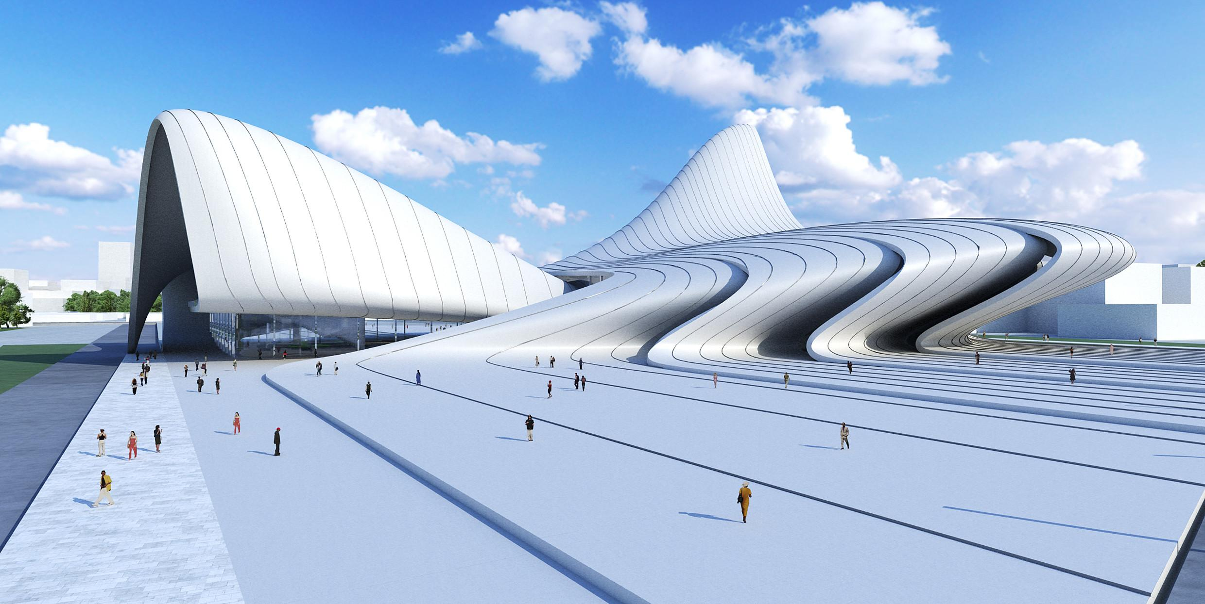 Future Perfect Zaha Hadid Architects Baku