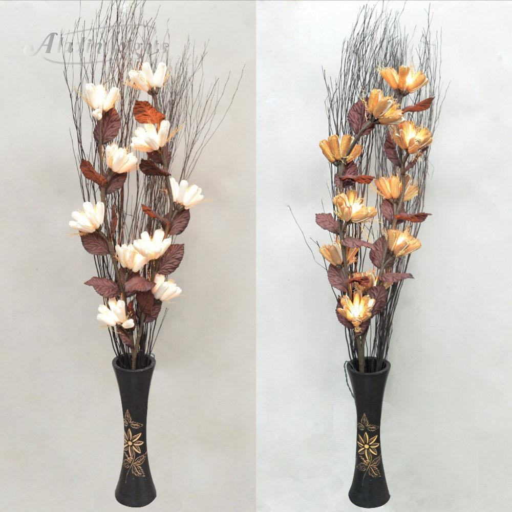 Gaiashine Lighted Twig Branches Protea Artificial Flowers