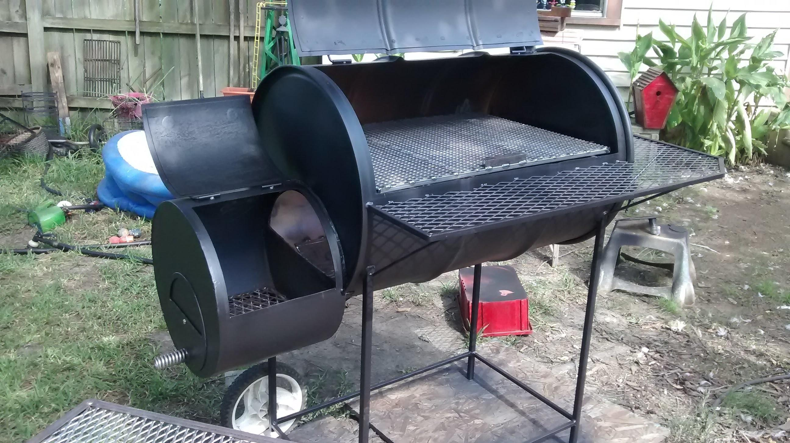 Gallon Barrel Smoker Build