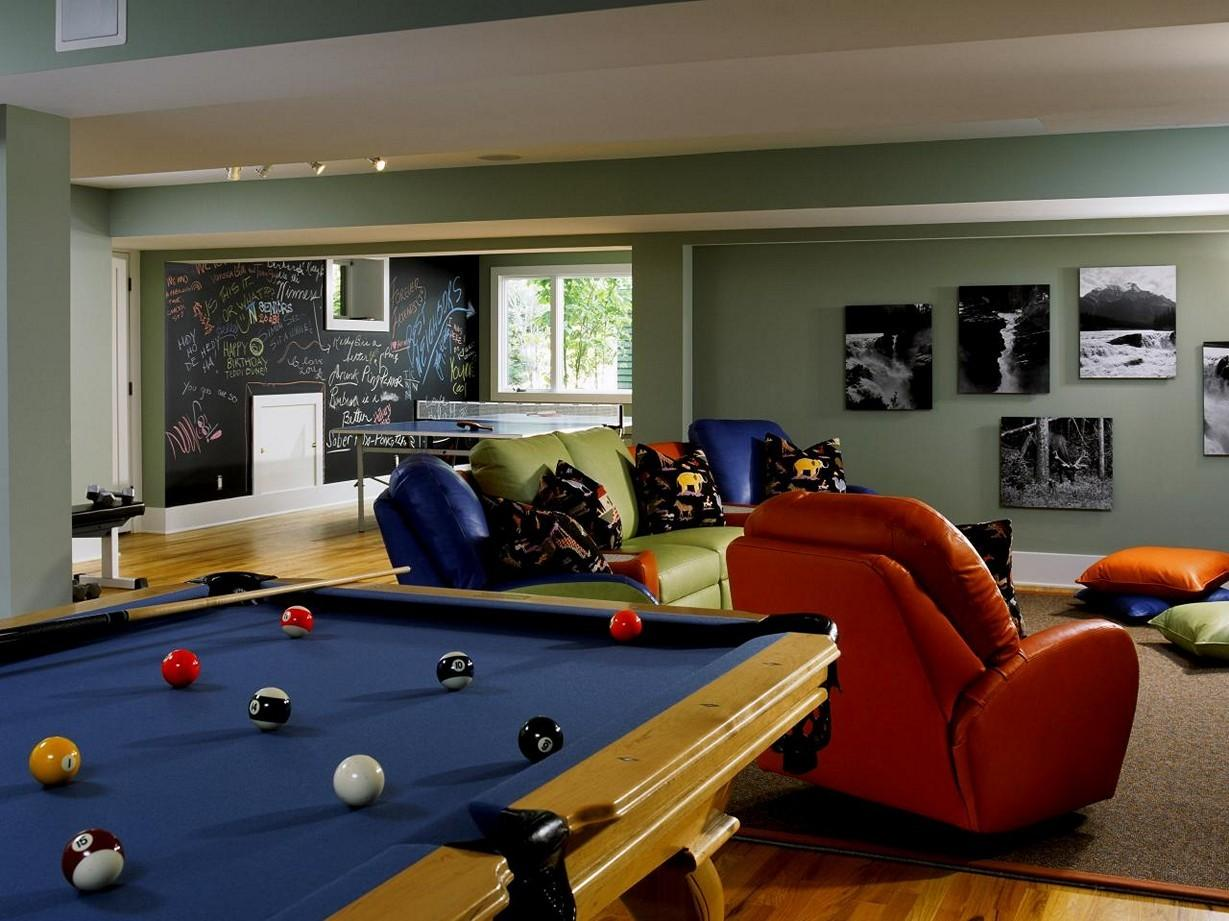Game Room Ideas Family