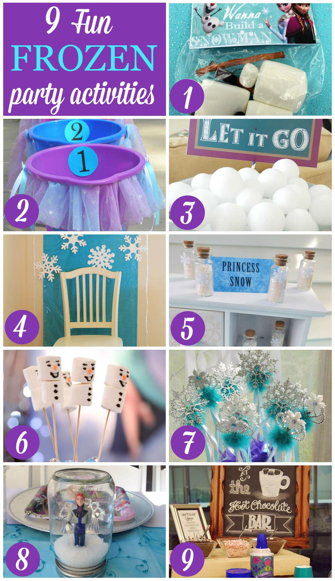 Games Frozen Party Invitations Ideas