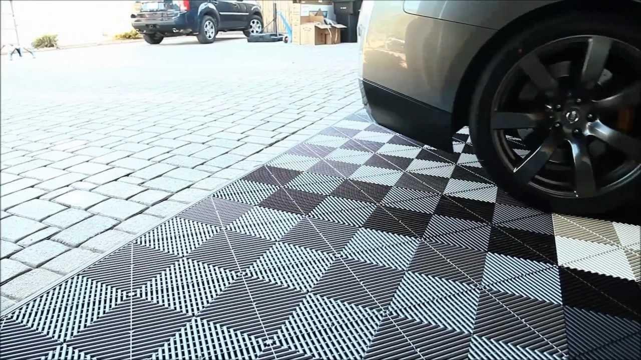 Garage Flooring Inc Installs Vented Modular