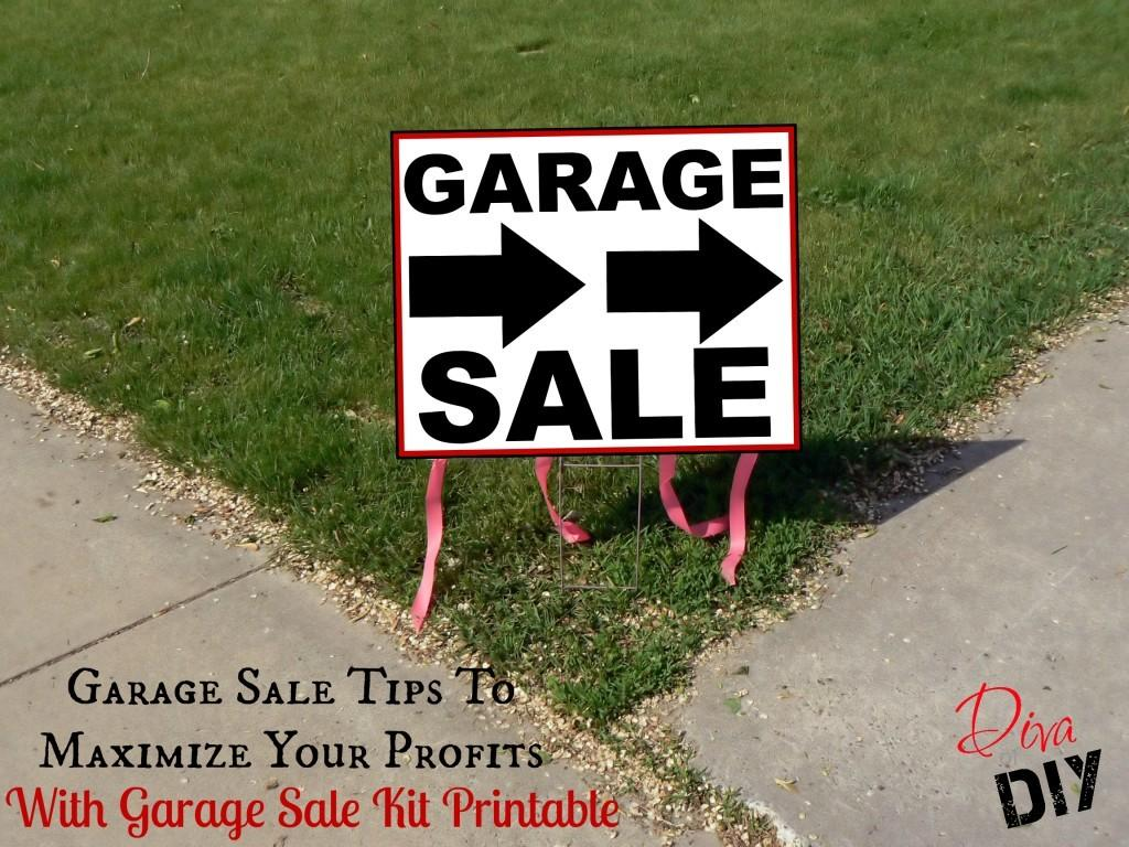 Garage Sale Tips Maximize Your Profits Diva Diy