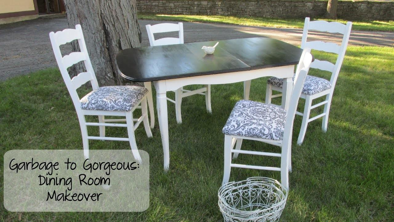 Garbage Gorgeous Episode Shabby Chic Dining Room