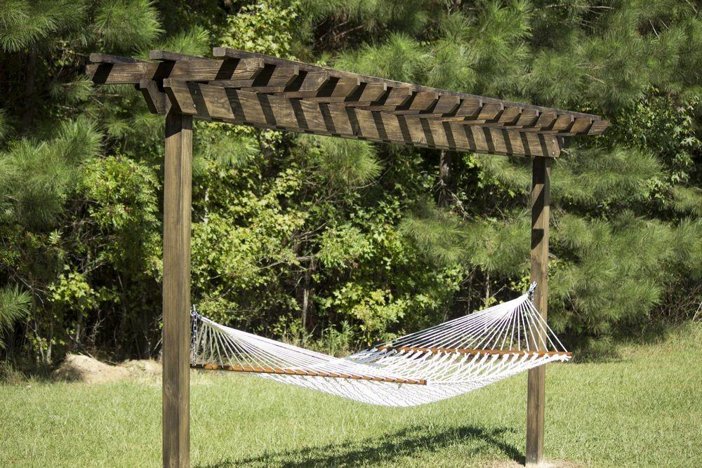 Garden Build Hammock Stand Casuable