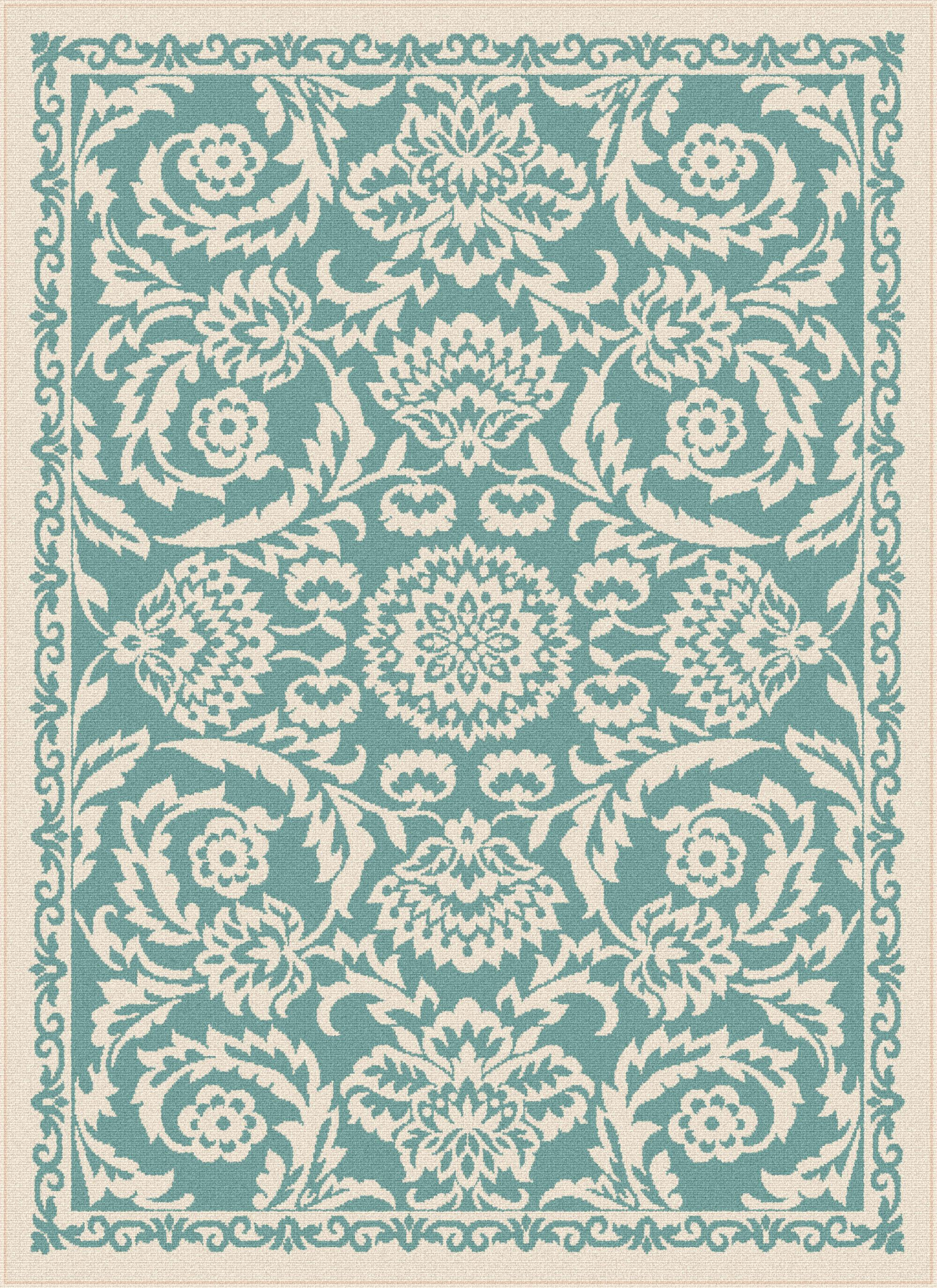 Garden City Tayse Indoor Outdoor Area Rug Basile