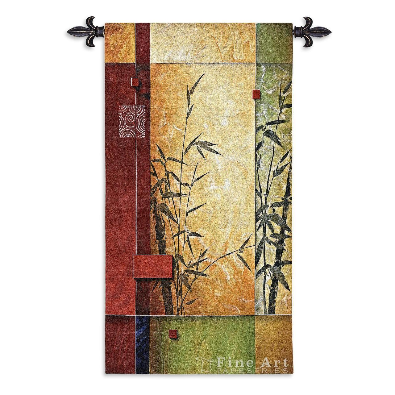 Garden Dance Modern Tapestry Wall Hanging Abstract