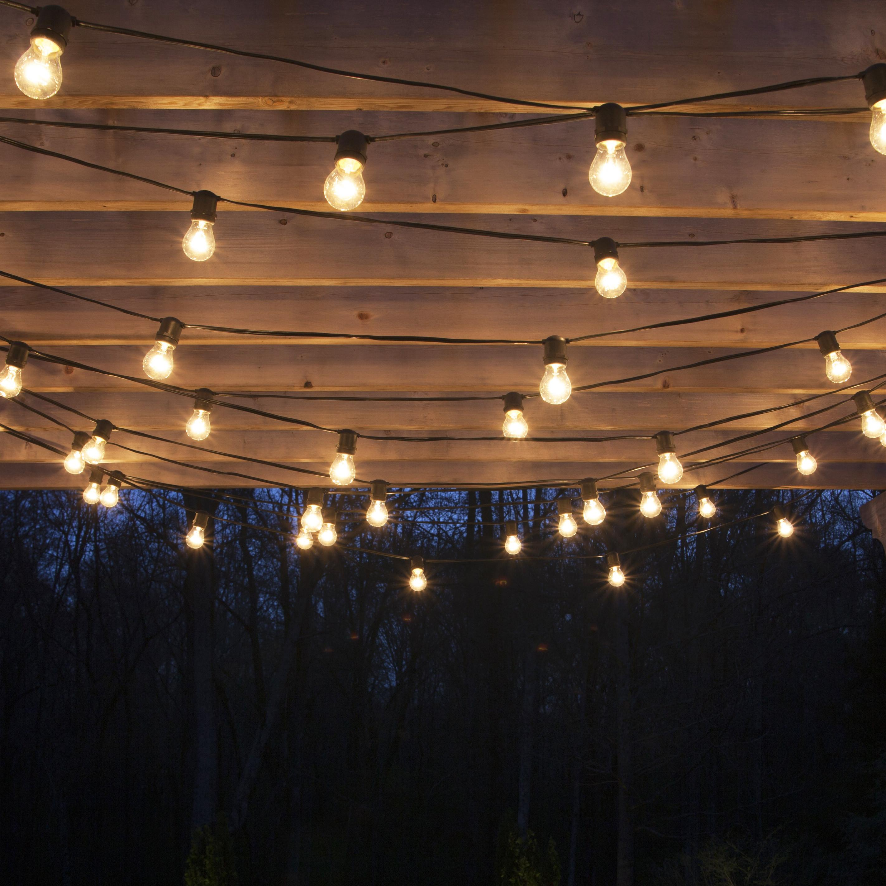 Garden Design Best Outdoor String Lights Plus