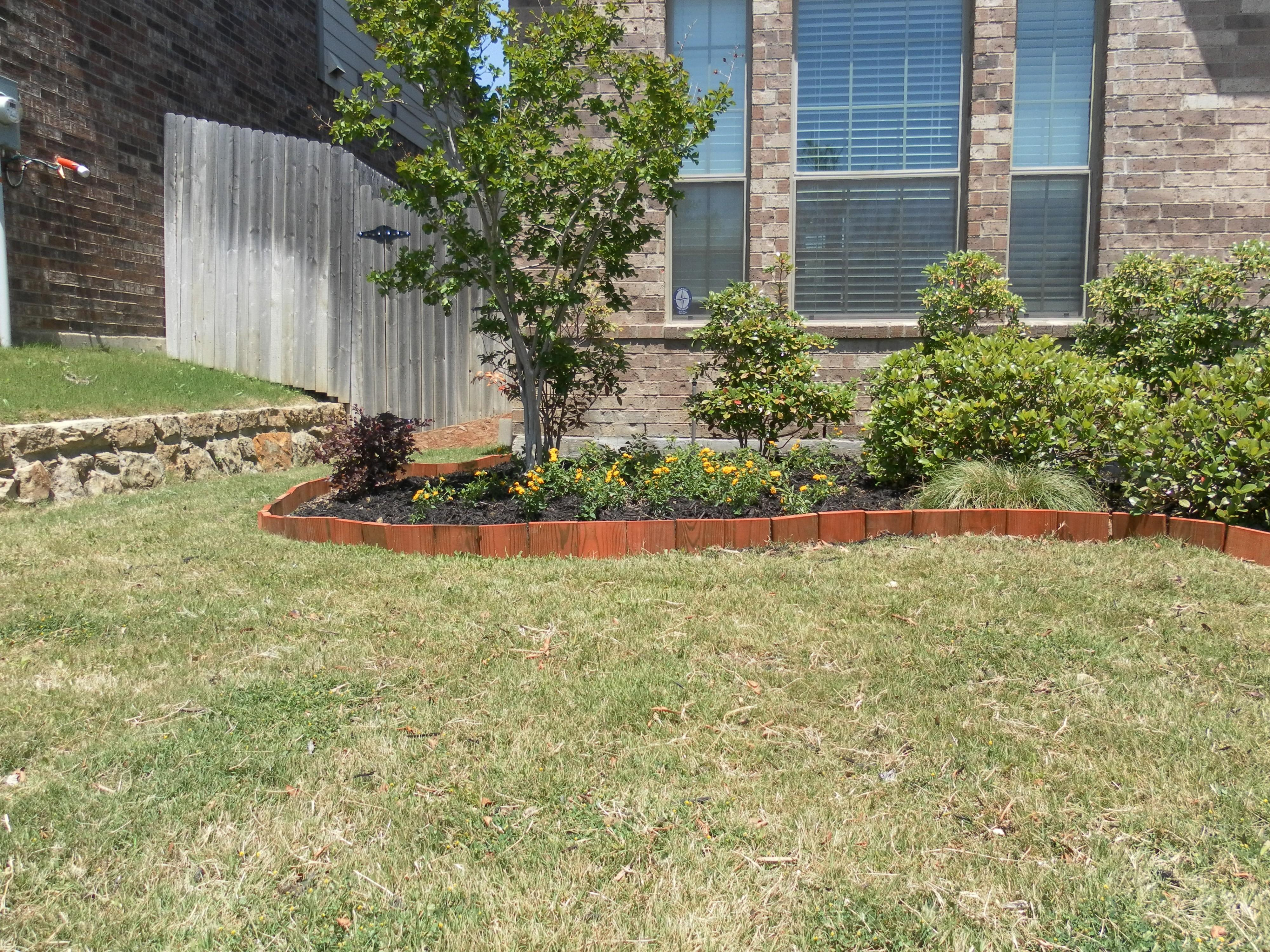 Garden Edging Ideas Amazing Lawn