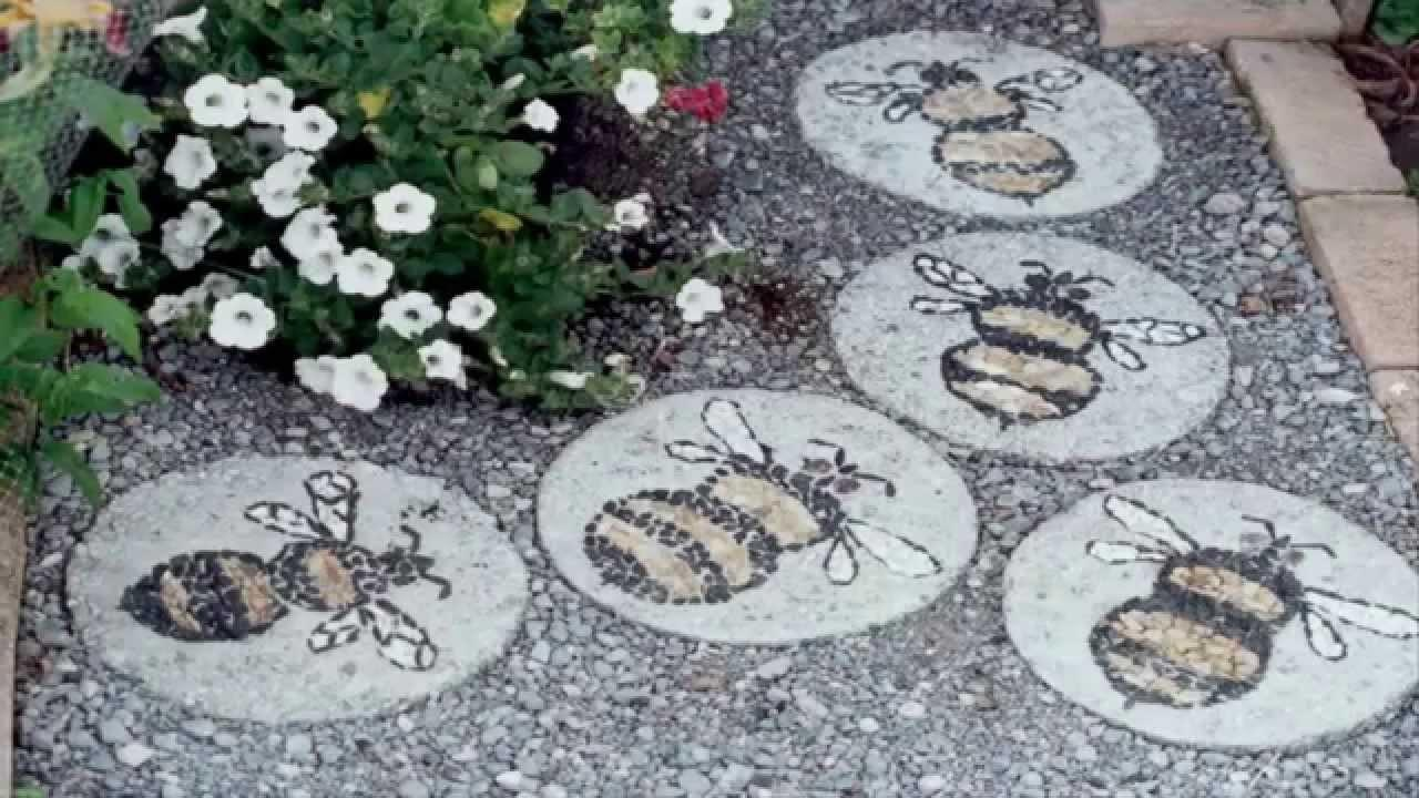 Garden Ideas Stepping Stone