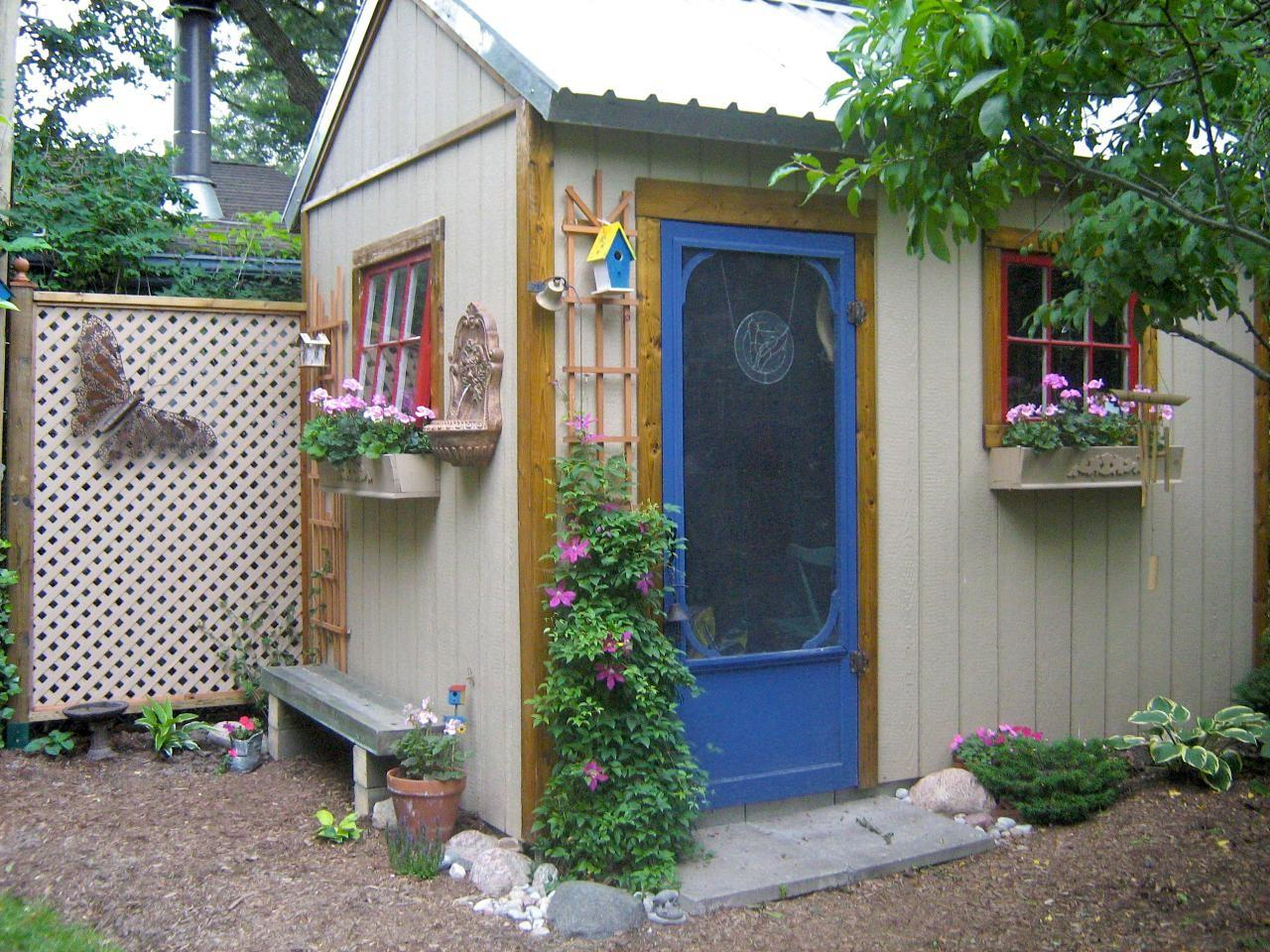 Garden Sheds They Never Looked Good Landscaping