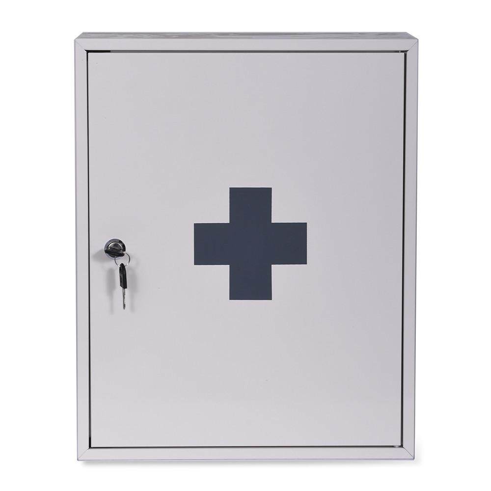 Garden Trading First Aid Wall Cabinet Chalk Gay