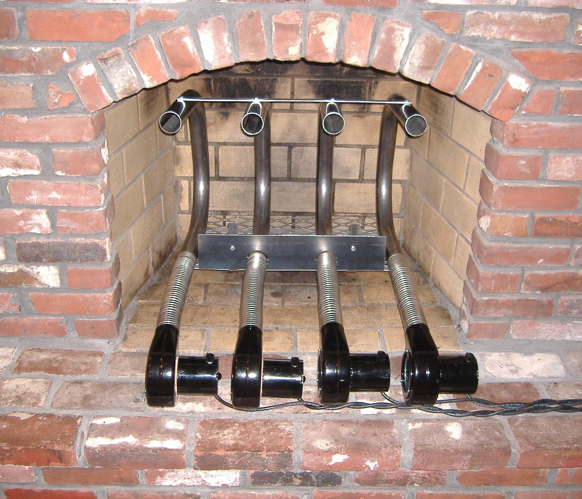 Gas Fireplace Heating Systems Fireplaces