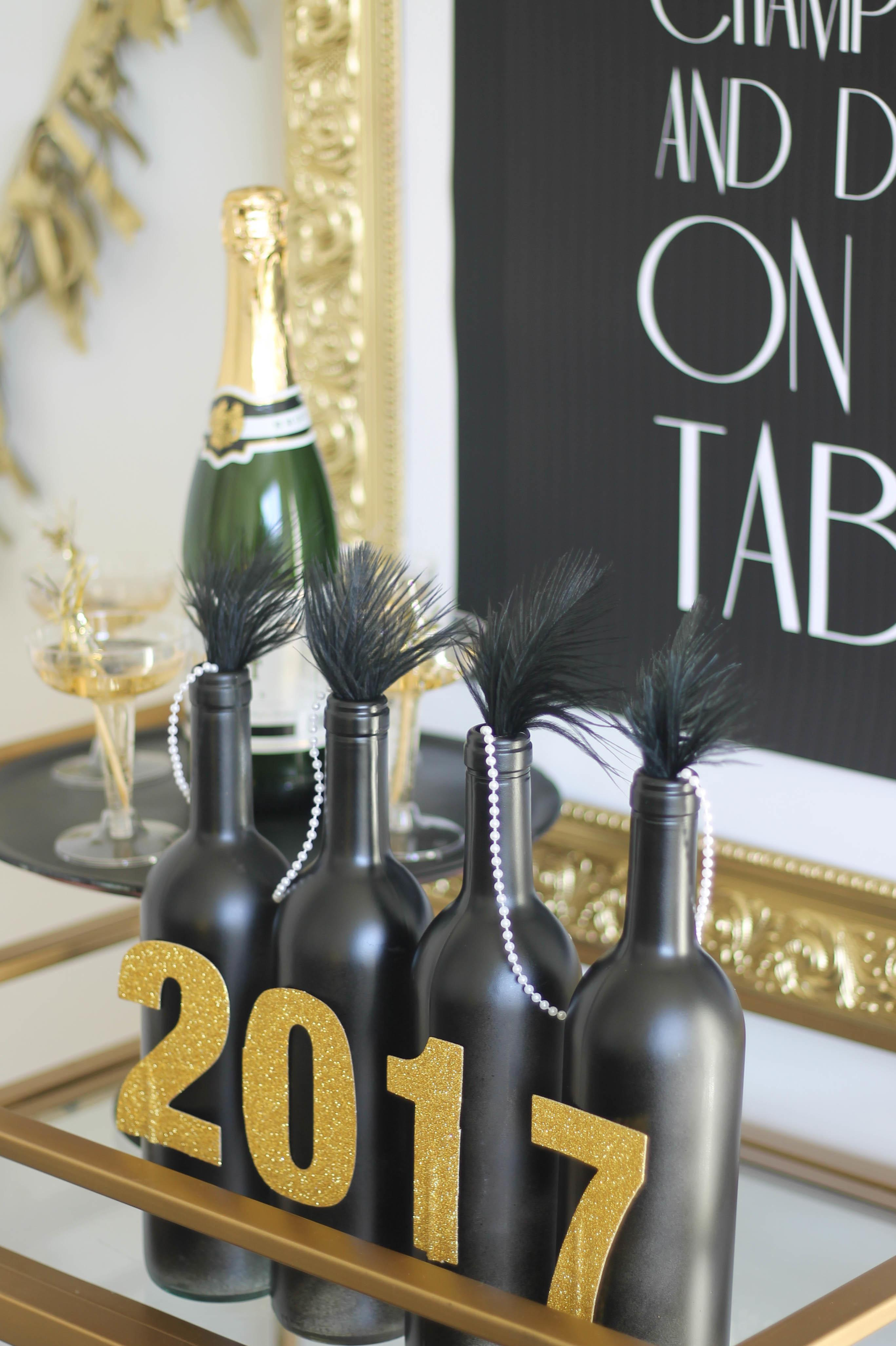 Gatsby Inspired New Year Eve Party Diy Centerpiece