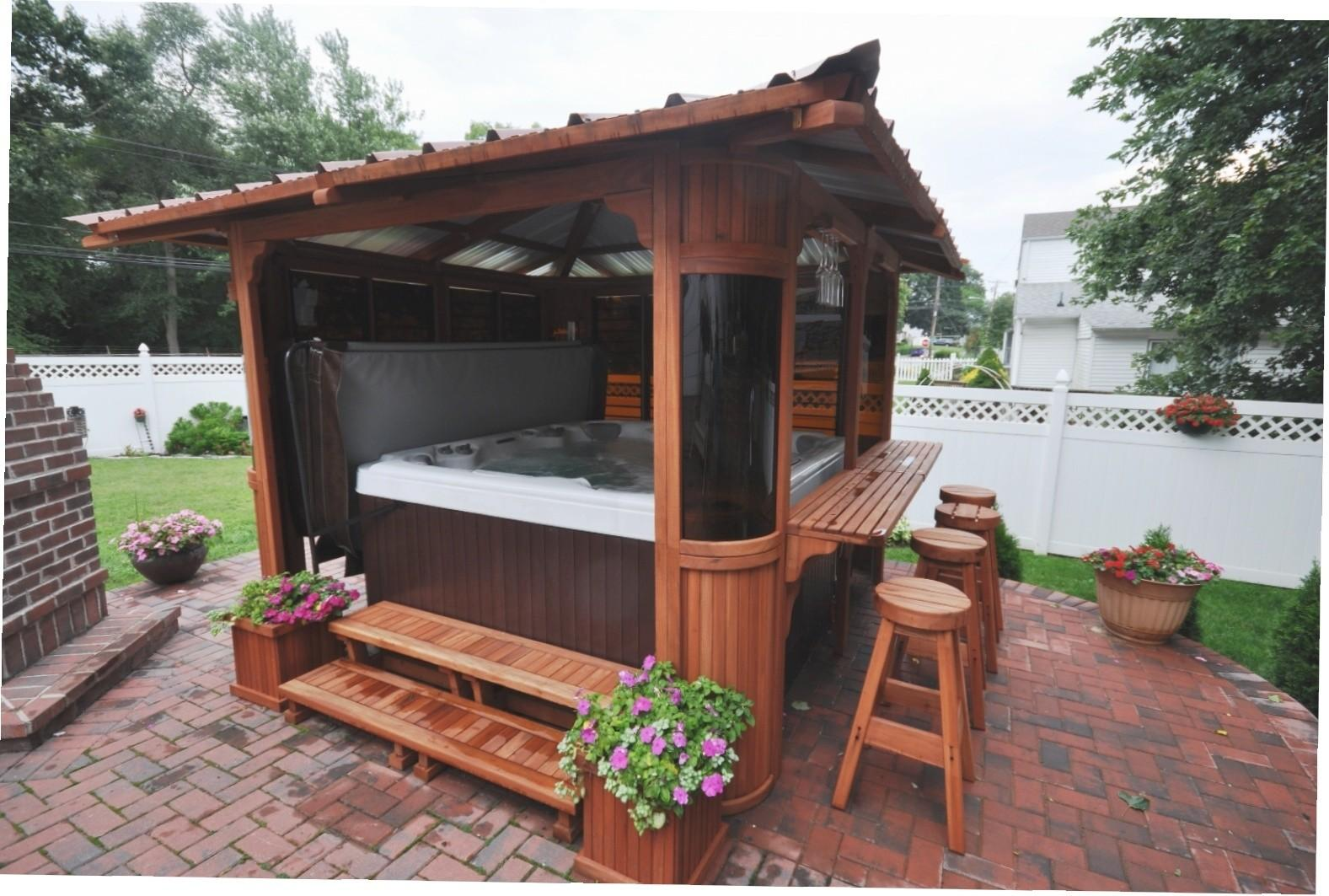 Gazebos Hot Tubs Gazebo Ideas
