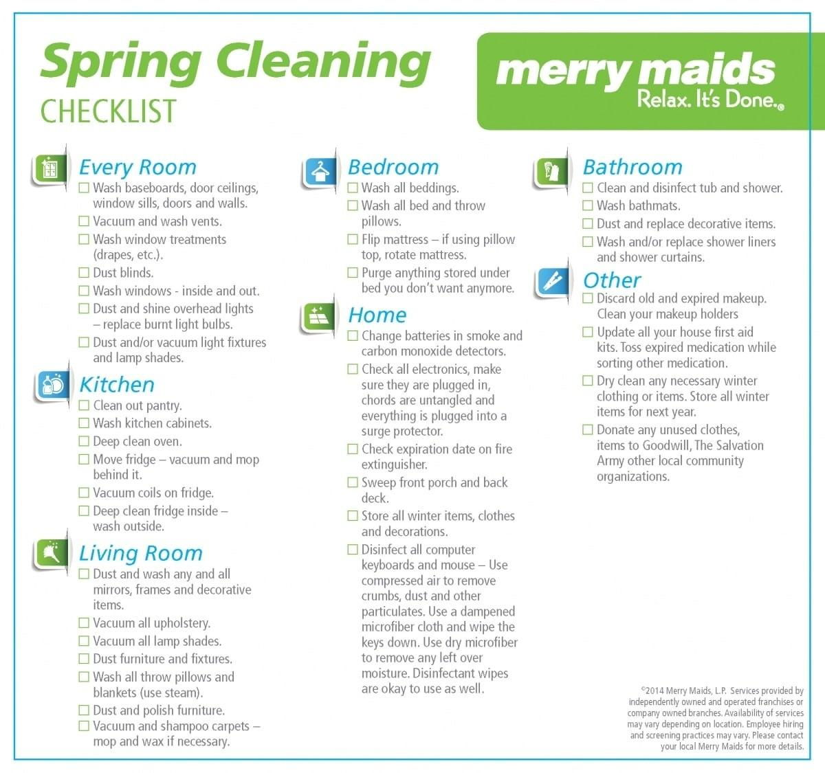 General Cleaning Tips Merry Maids
