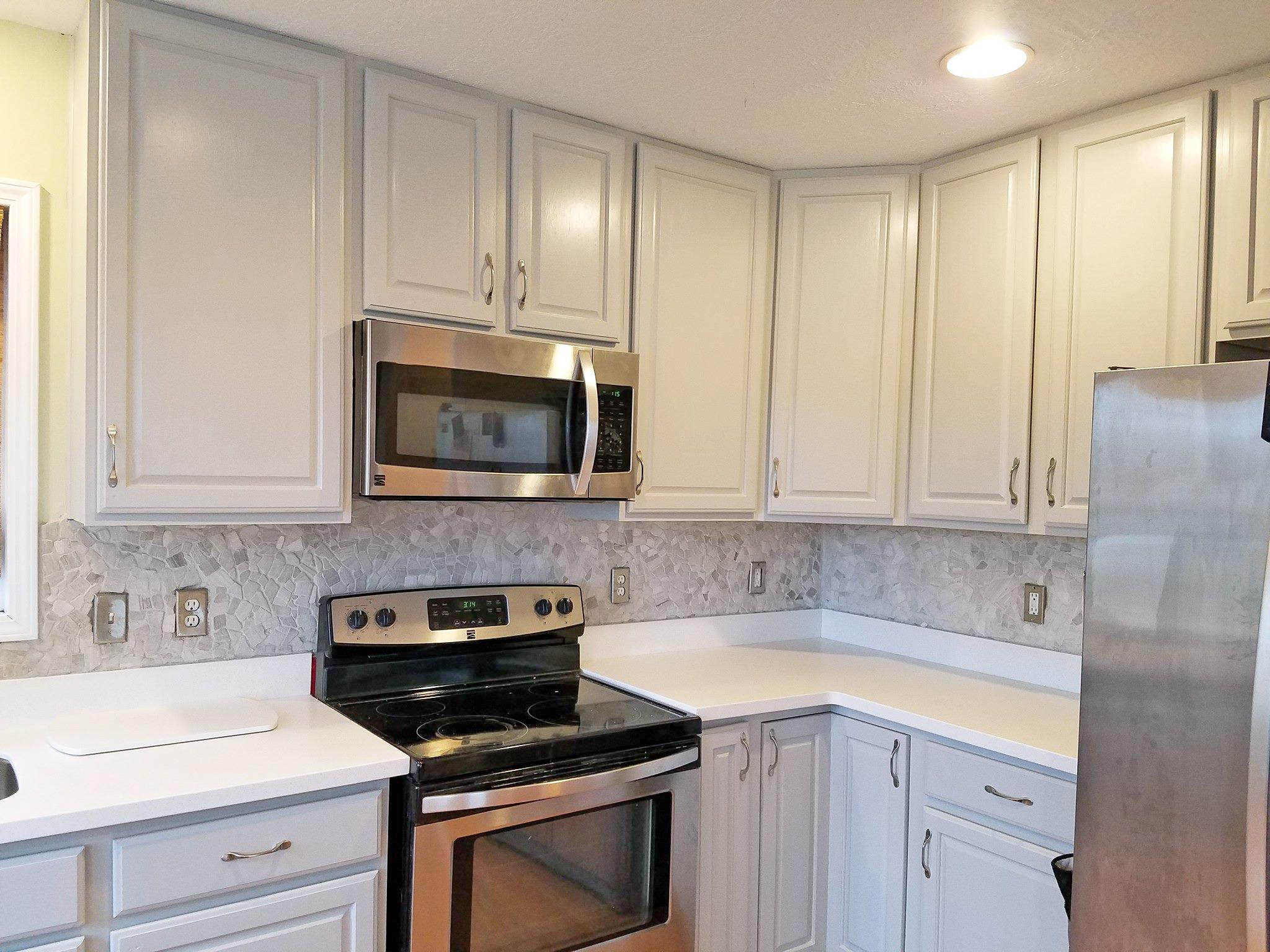 General Finishes Milk Paint Kitchen Cabinets Black Before