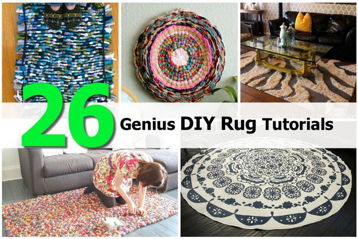 Genius Diy Rug Tutorials