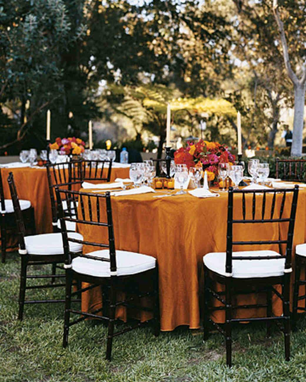 Genius Fall Wedding Ideas Martha Stewart Weddings