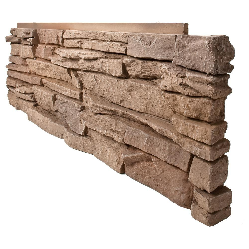 Genstone Stacked Stone Desert Sunrise Faux
